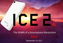 Ice 2 phone Launch