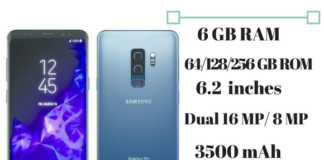 Samsung Galaxy S9+ specs & features