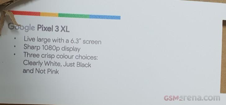Pixel 3 and Pixel 3 XL