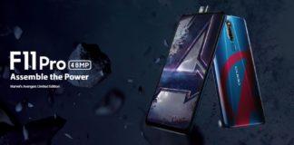 Oppo F11 pro Avengers Edition