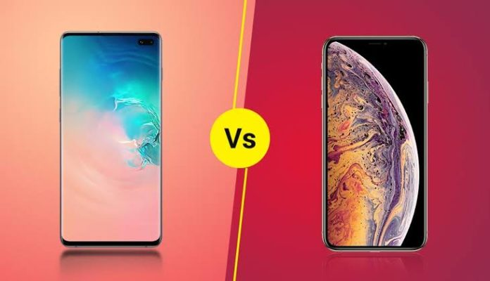 Samsung S10 Plus & iPhone Xs mas