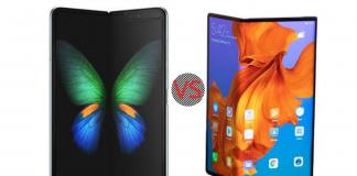 Huawei mate X vs Samsung fold