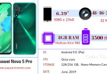 Huawei Nova 5 Pro Gadgetstripe