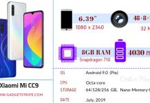 Xiaomi Mi CC9 Gadgetstripe