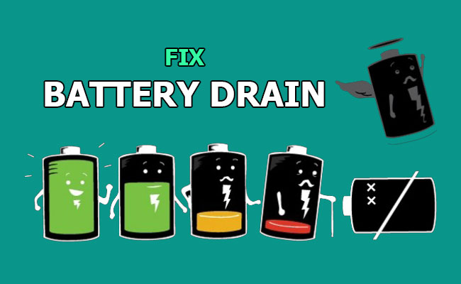 how to fix battery drain