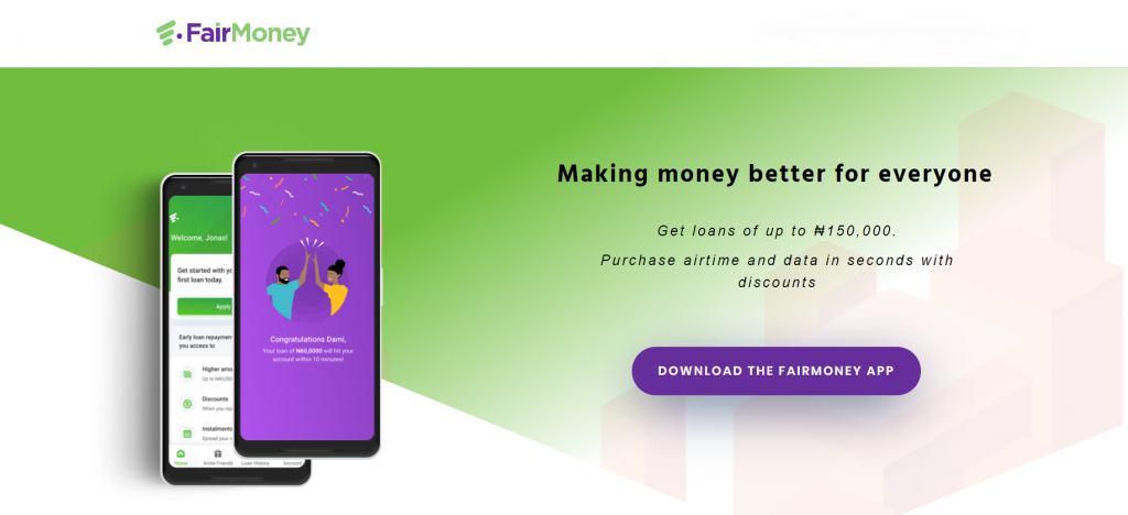 fairmoney best loan apps in nigeria