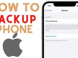 how to back up iphones